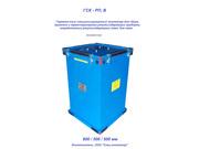 Контейнер металлический герметичный для накопления и транспортировки р