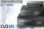 Цифровые эфирные DVB-T2 приставки ORIEL (оптом)