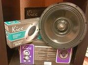 Сабвуферы,  усилители,  акустические системы и провода Kicx.