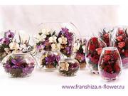 Живые цветы в вакууме,  которые хранятся 5 лет!