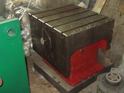 Стол - тумба с Т-образными пазами к станку 2М55 поворотная