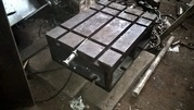 Стол-тумба с Т-образными пазами. 780х600х275 мм
