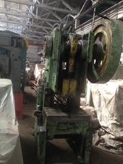 кривошипный механический наклоняемый пресс К 2126 (усилие 40т)